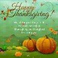 A Thanksgiving Wish Card...