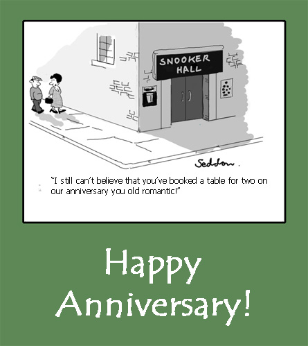 Anniversary Humour Card.