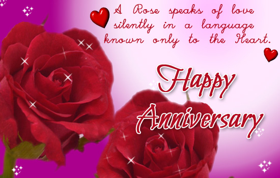 Happy Anniversary With Roses!