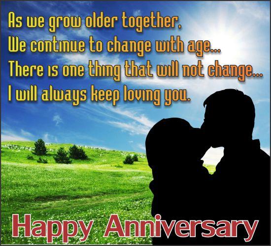 Loving Anniversary.