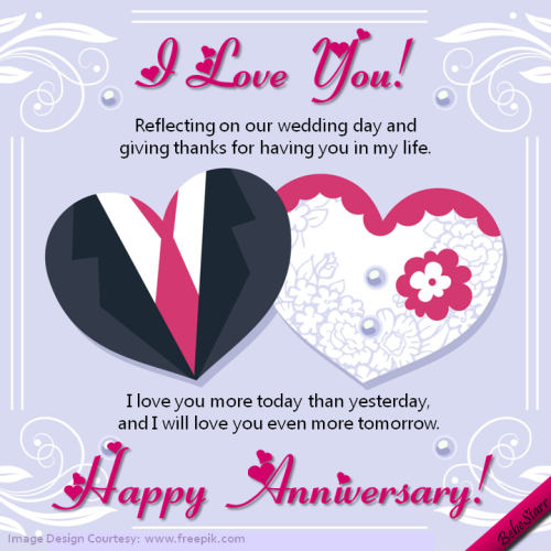 Happy anniversary greeting cards for husband