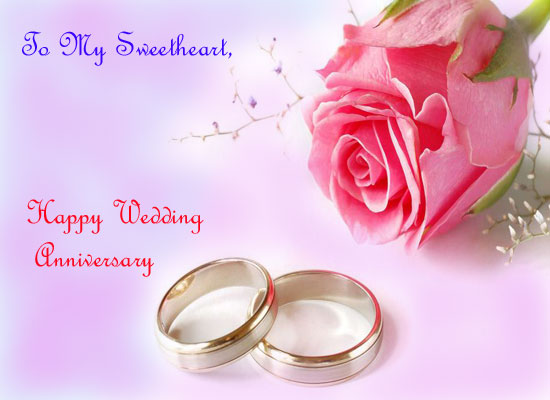 My sweetheart free happy anniversary ecards greeting cards