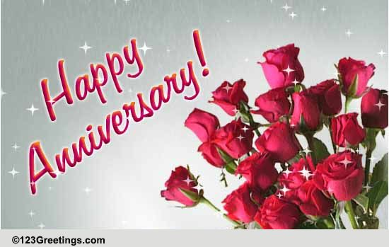Wedding anniversary free happy anniversary ecards greeting cards