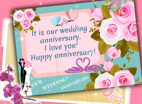 Our wedding anniversary free happy ecards