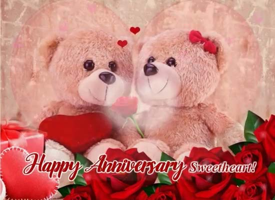 Happy Anniversary My Sweetheart. Free Happy Anniversary ECards | 123  Greetings