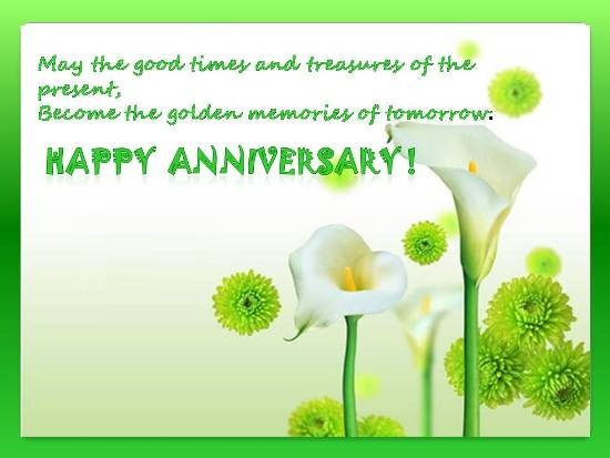 Greetings On A Dear One's Anniversay.