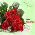 Home : Anniversary : Flowers - Loving You...