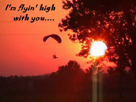 I'm Flying High With You.