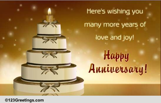 Interactive anniversary card free milestones ecards greeting