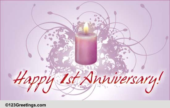 Image gallery happy st wedding anniversary