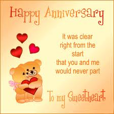 Happy Anniversary My Lovely...