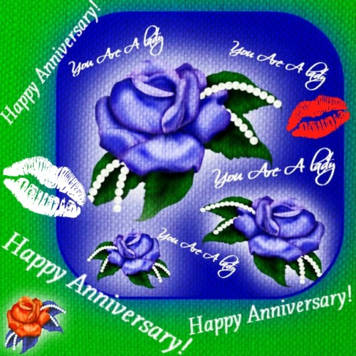 Happy anniversary my lady free for her ecards greeting