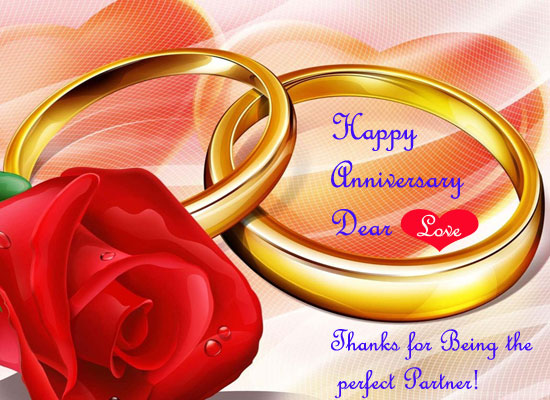 Happy anniversary dear free for her ecards greeting cards