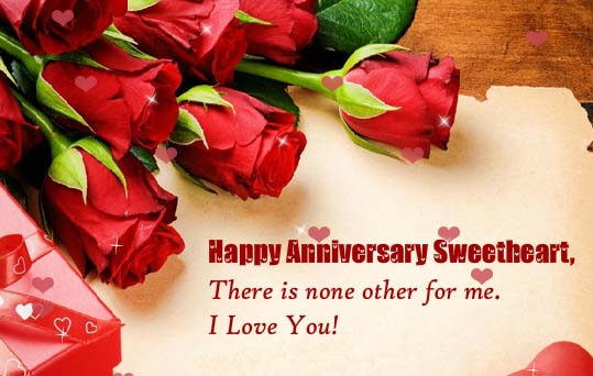 Happy Anniversary Sweetheart Free For Her Ecards