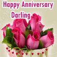 Heartfelt Anniversary Wishes,  Darling.