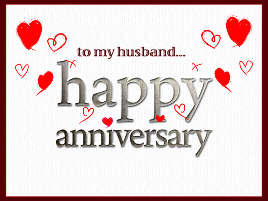 Love Anniversary For Husband Free Him ECards Greeting Cards