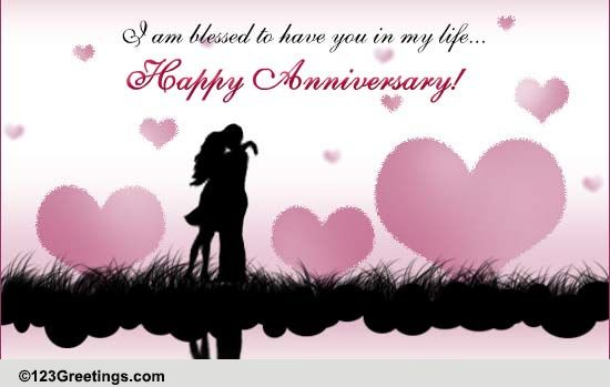 Anniversary For Him Cards, Free Anniversary For Him eCards 123 ...