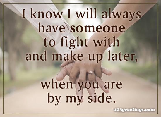 I Know I Will...