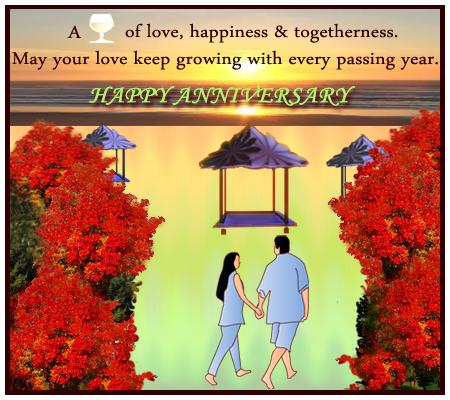Happy Anniversary Message.