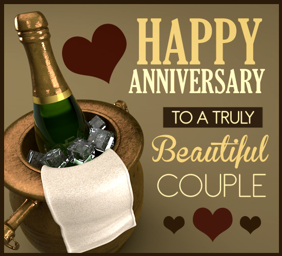 champagne anniversary  free to a couple ecards  greeting