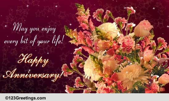 Wedding Gifts For Jiju : Special Anniversary Card! Free To a Couple eCards, Greeting Cards ...