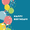 Birthday Air Balloons.