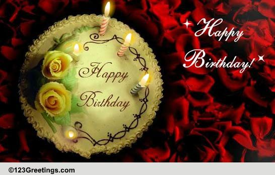 a sweet birthday  free cakes  u0026 balloons ecards  greeting
