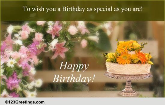 Heartfelt Birthday Blessings Free ECards