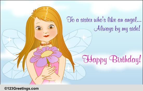 A Fun B Day Wish For Sis Free For Brother Amp Sister Ecards