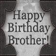 Happy Birthday Brother Vintage Watch.