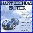 Birthday Wishes For Brother.