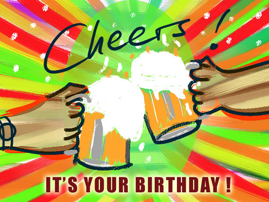 Let's Drink It's Your Birthday!
