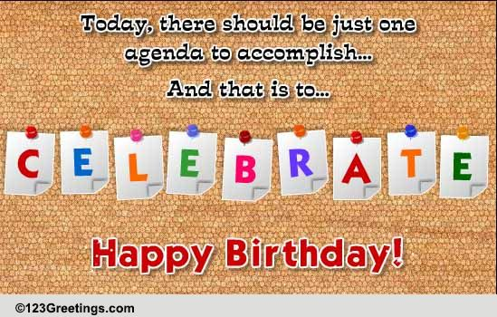 Birthday Boss Colleagues Cards Free Birthday Boss Colleagues – Birthday Greetings for Coworkers