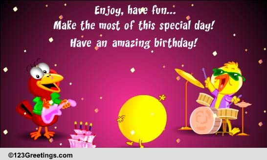 Enjoy And Have Fun Free Boss Colleagues eCards Greeting Cards – Happy Birthday Cards for Colleagues