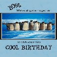 Birthday Penguins From Cool Group.