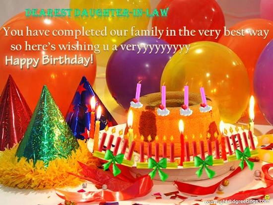Loving Birthday Wish For Free Extended Family eCards Greeting – 123 Greetings Birthday Cards