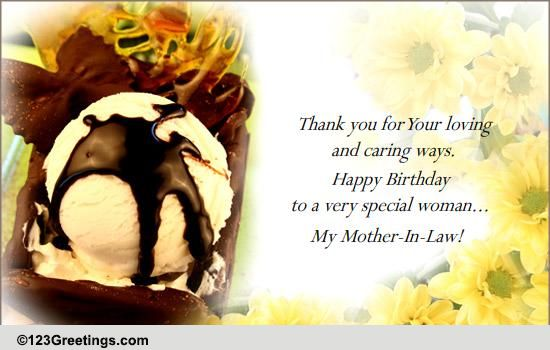 Happy Birthday Mom In Law Free Extended Family Ecards Greeting