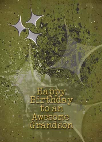 Happy Birthday Grandson Free Extended Family Ecards