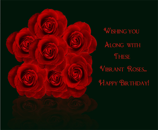 Vibrant Wishes For Your Loved Ones