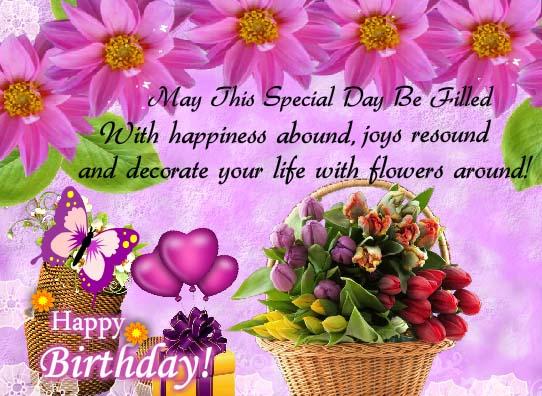 Joys Abound Flowers Around Free Flowers Ecards Greeting