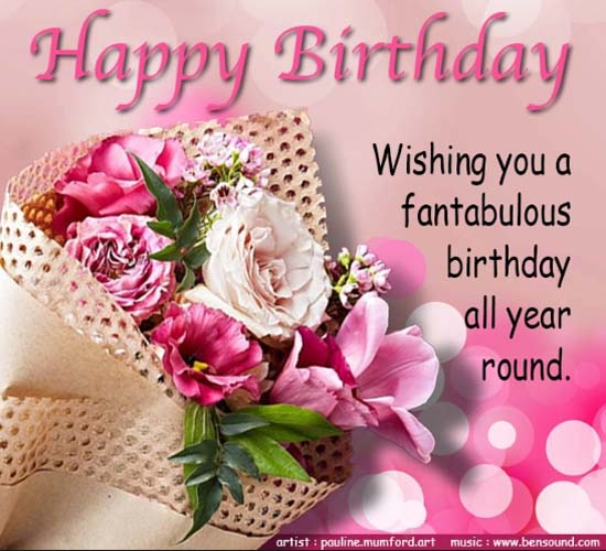 Fantabulous Birthday. , Greeting Cards