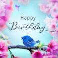 Home : Birthday : Flowers - Magical Flowers Singing Birds...
