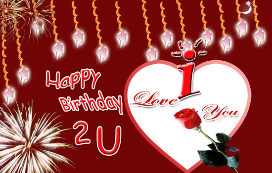 Birthday Card For Love Or Sweetheart