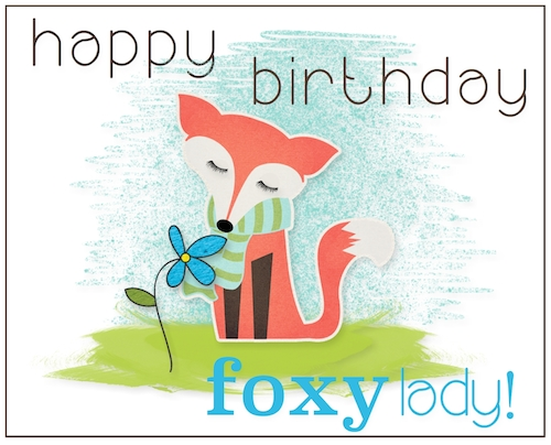 Foxy Lady Birthday.