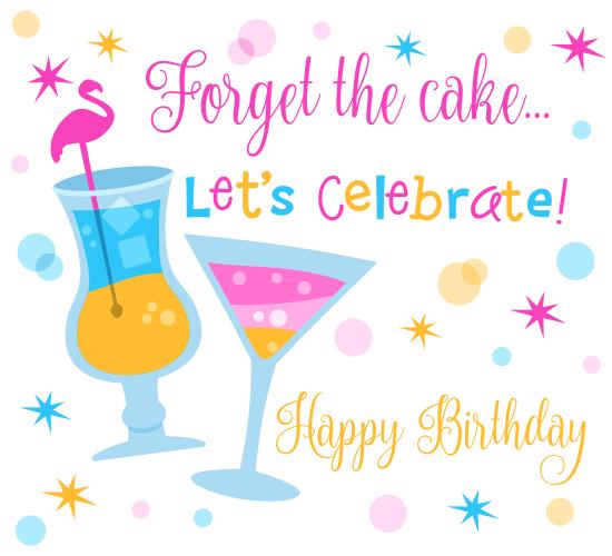 Let's Celebrate Cocktail.