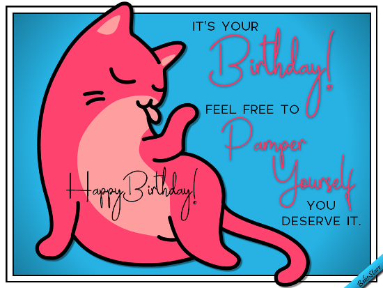 Pamper yourself free birthday for her ecards greeting cards 123 pamper yourself free birthday for her ecards greeting cards 123 greetings m4hsunfo