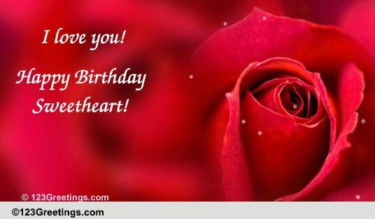 Birthday Just for Her Cards Free Birthday Just for Her eCards – Love Birthday Card