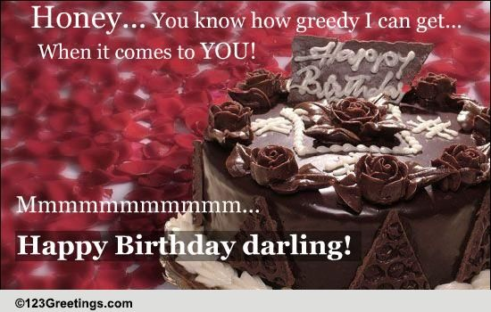 A Hot Romantic B Day Wish Free Birthday For Him Ecards