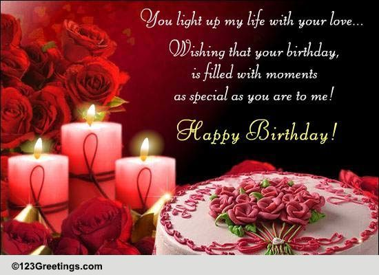 A Special Birthday Message Free Just for Him eCards Greeting – Greeting Cards.com Birthday