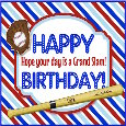 A Grand Slam Baseball Birthday.